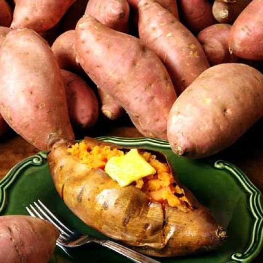 Сладкий картофель - витамины на нашем столе