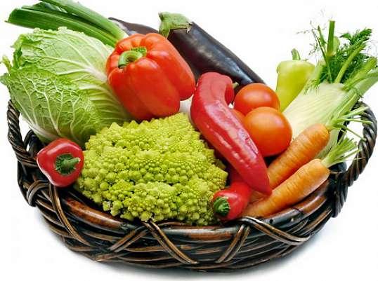 Сокровища в овощном лукошке
