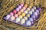 Рецепты натуральных красок для пасхальных яиц