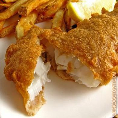 рецепт с филе рыбы