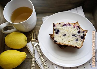 Пирог с черникой из сдобного теста рецепт 22