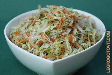 легкий салат рецепт с фото