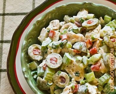 рецепты салат из куры