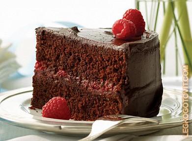 крем шоколадно-малиновый рецепт