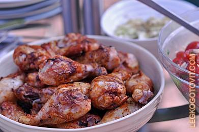 рецепт куриных ножек в духовке в соусе