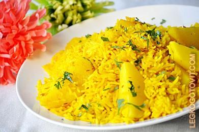 с Рецепт картошкой риса