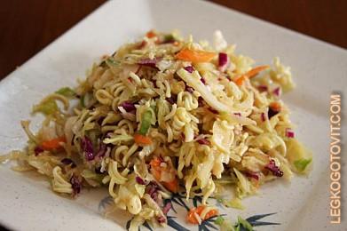 салат с мивины рецепты с фото