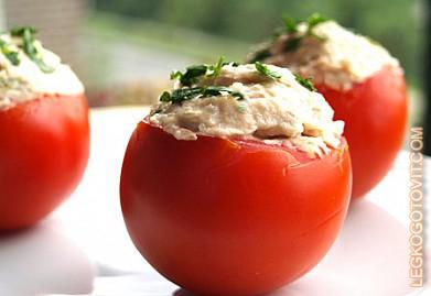 фаршированные помидоры с фаршем рецепт фото