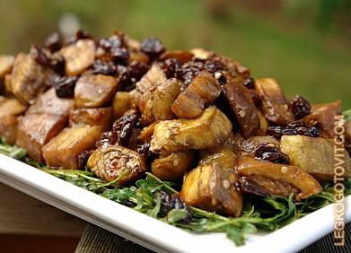 салаты из баклажанов рецепты с фото