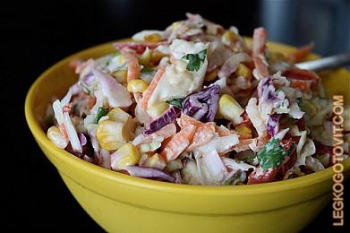 рецепт овощных салатов
