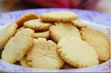 сдобные печенья рецепт
