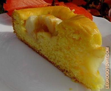 Тесто на ряженке для пирога с яблоками рецепт