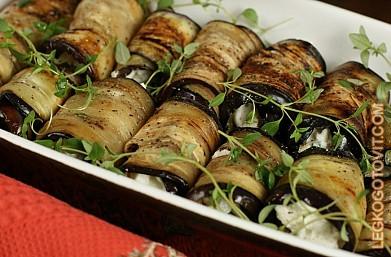 Рецепты закусок из баклажанов