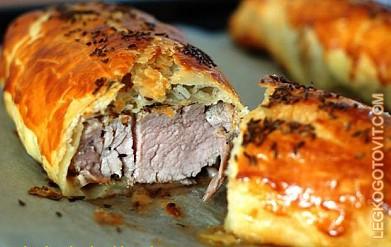 рецепт вырезки из свинины