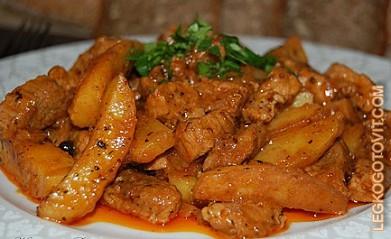 рецепт рагу с мясом с фото