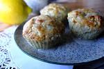 Как приготовить Лимонные кексы с маком и грушей
