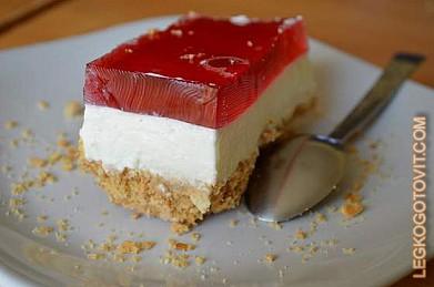 йогуртовое суфле для торта рецепт с фото