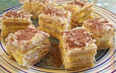 пирожное с заварным кремом рецепт с фото