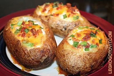 рецепт с фото картофель
