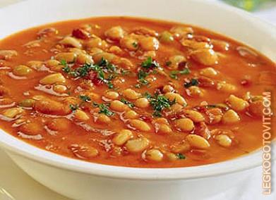 рецепт супа с фасолью рецепт