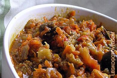 рецепт овощной икры с баклажанов