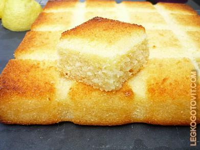 пирога с глазурью Рецепт