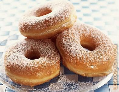 Пончики с яблоками рецепт