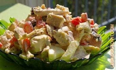 салат эдельвейс самый простой рецепт